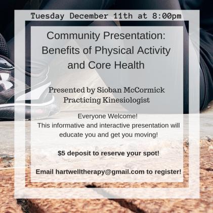 Community Presentation poster